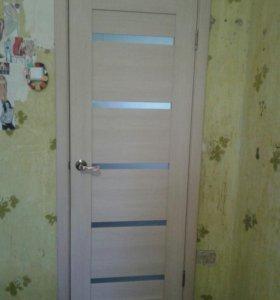 Продам новую межкомнатную дверь Эко -шпон