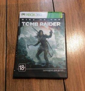 Игра TOMB RAIDER на XBOX360