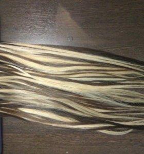Волосы на капсулах 55-60 см