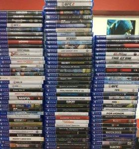 Диски с лицензионными играми для PlayStation4