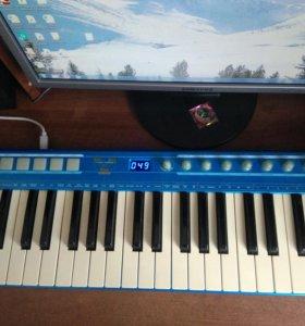 Миди клавиатура СМЕ U-Key Blue