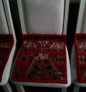 Коврики для стульев. Нат.шерсть. 46х40