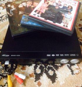 DVD новое + новые диски дёшево, возможен обмен