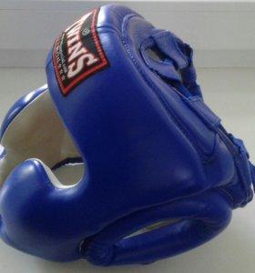 Боксерский шлем Twins Special - синий (M) , бу