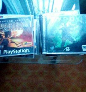 Диски на Sony Playstation