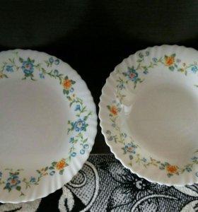 Комплект новых тарелок
