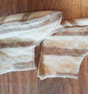 Шерстяные угги для дома или носки