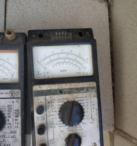 Советский мультиметр