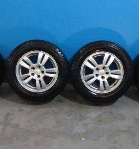 Зимние колёса на опель и шевроле