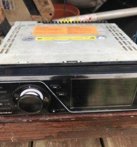 Магнитола 1DIN  Pioneer DVH-730AV