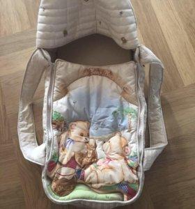 Переноска для новорожденных le monde