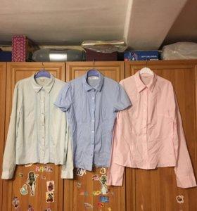 Блузки школьные на 9-12 лет