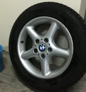 Диски BMW R16 в сборе на зимней резине