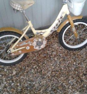 Велосипед детский, для девочек.