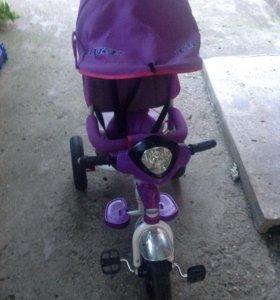 Детский велосипед-коляска 3 в 1