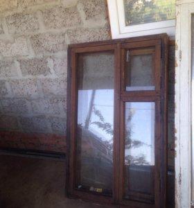 Окно деревянное в отличном состоянии б/у