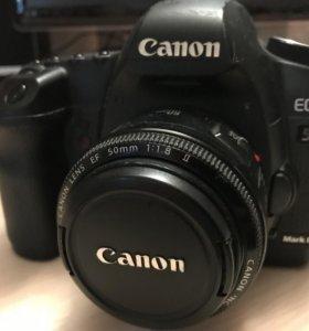 Canon 5D mark II + 50mm 1.8