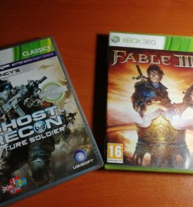 Fable III & Tom Clancys