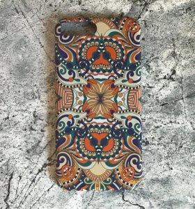 Новый бампер для iphone 7/8 plus этно