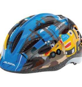 Детский шлем Alpina 2018 Gamma, 51-56 см, Германия