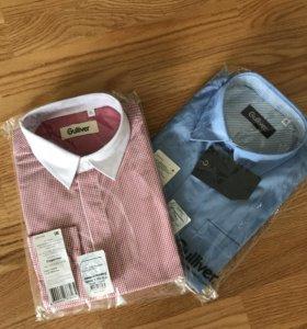 Рубашки Gulliver р.170 новые