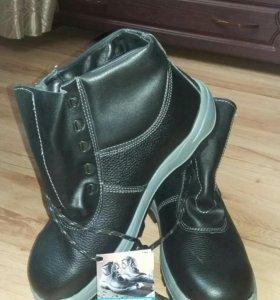 Ботинки мужские кожаные Техногард