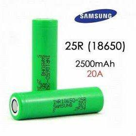 Samsung INR18650-25R;