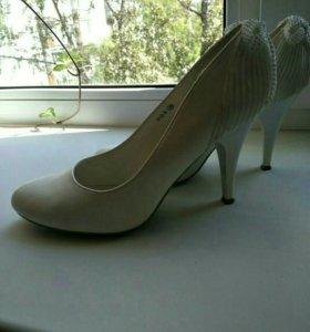 Свадебные туфли 37-38р