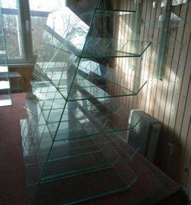 Производство стеклянных витрин