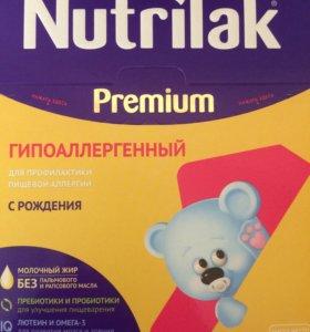 Nutrilak premium ГИПОАЛЛЕРГЕННЫЙ с рождения