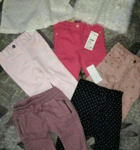 Новые фирменные вещи для маленькой модницы