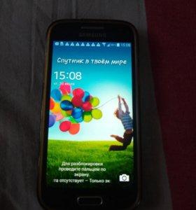 Продам отличный телефон samsung galaxy 4s mini