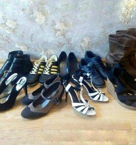 7 пар обуви пакетом