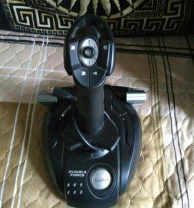 Б/у джойстик Saitek Cyborg 3D Force