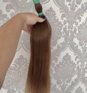 Детские волосы для наращивания срез