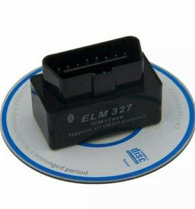 Диагностический сканер ELM327, Bluetooth, OBD
