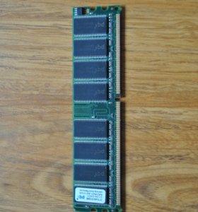 Оперативка DDR 400мг 512 мб