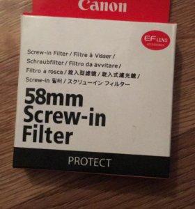 Защитный фильтр Canon