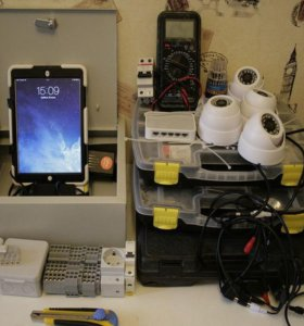 Комплект видеонаблюдения для магазина