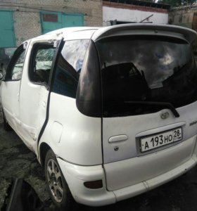 Toyota Funcargo В РАЗБОР ПО ЗАПЧАСТЯМ
