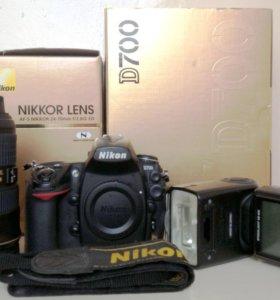 Фотоапарат Nikon d700, вспышка speedlight SB900