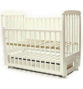 Детская кроватка Соня с продольным маятником