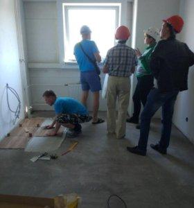Разнорабочие на строительные объекты