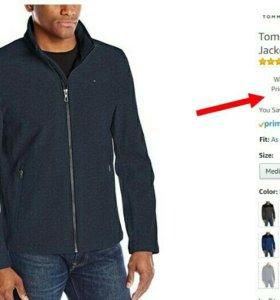 Куртка Tommy Hilfiger демисизонная.