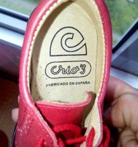 Новые Испанские туфли (полуботинки)
