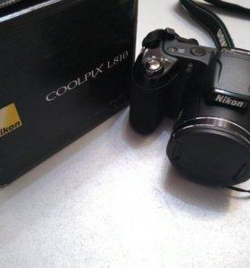 Цифровая фотокамера Nikon COOLPIX L810