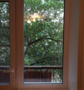 Балконные двери и окна отдам бесплатно, самовывоз