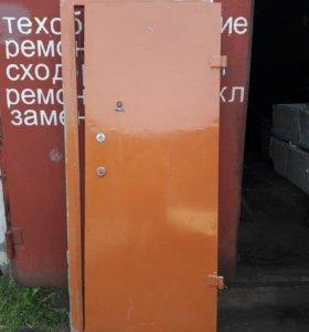 Дверь на стандартный проём, замок, ключи. Доставка