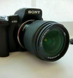 Sony Alpha DSLR A-300