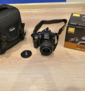 Зекальный фотоаппарат Nikon D3200 Kit 18-55 VR II